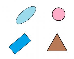 تشخیص رنگ و شکل 2