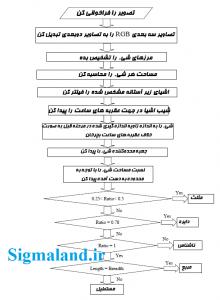 فلوچارت مربوط به مراحل مختلف پردازش