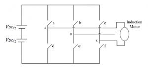 اینورتر منبع ولتاژ از نوع سه فاز