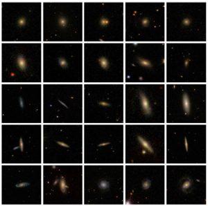 طبقه بندی تصاویر کهکشان