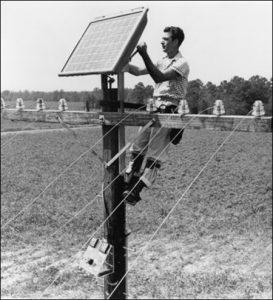تاریخچه پنل های خورشیدی